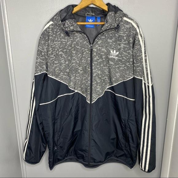 ADIDAS Originals Full Zip Windbreaker Jacket